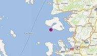 İzmir'de 4.8 Büyüklüğünde Bir Deprem Daha