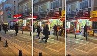 Polis, Kadıköy Sokaklarında Öğrencileri Kovalarken Esnafın Yön Tarifine Vatandaştan Tepki: 'Bravo'