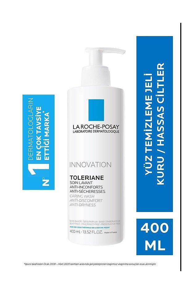 Kuru ciltler için dermatologların en çok önerdiği marka La Roche Posay. Bu yıkama jeli cildinizi kurutmadan arındırır.