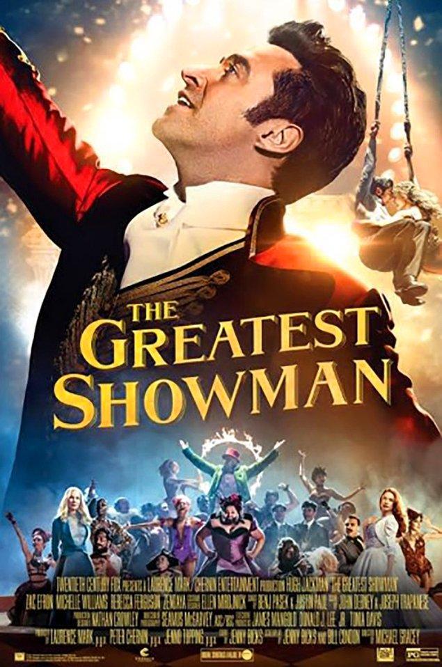 6. The Greatest Showman (2017) IMDb: 7,6