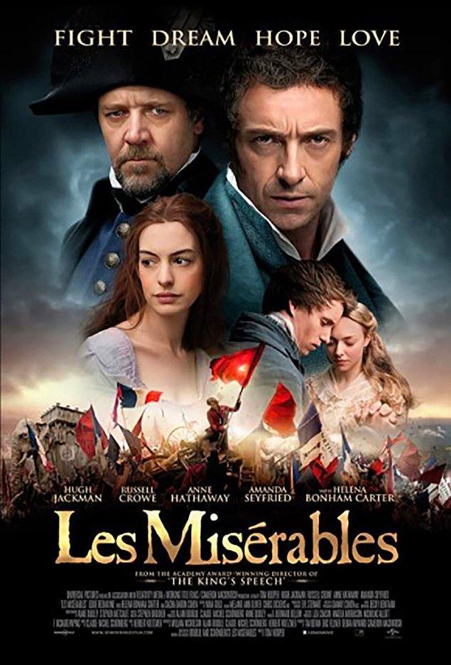 5. Les Miserables (2012) IMDb: 7,6