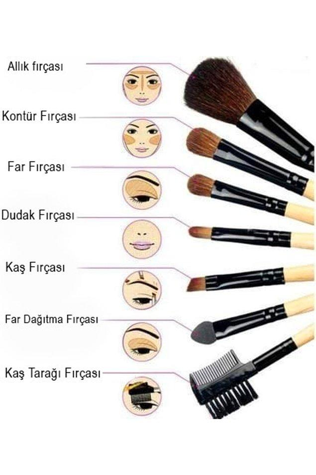 13. Göz makyajınızı doğru yapabilmek için fırça da çok önemli bir detay.