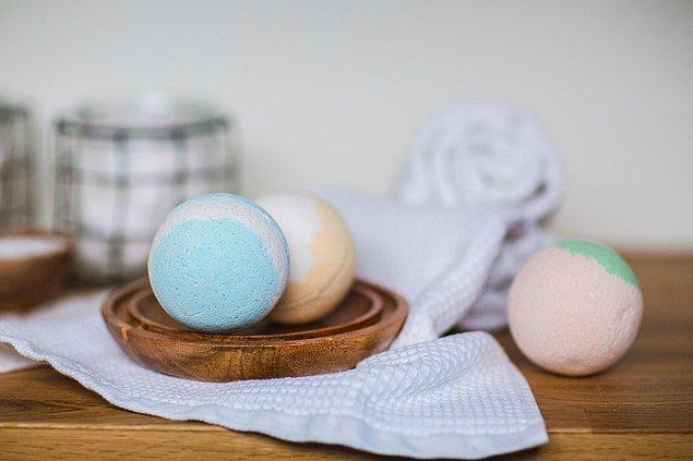 1. Son yılların vazgeçilmezi banyo topları