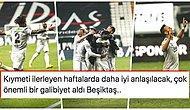Kartal Zirvede Puanları Eşitledi! 75 Dakika 10 Kişi Oynayan Beşiktaş, Konyaspor Engelini Rosier ile Geçti