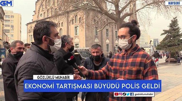 O vatandaş ayrıca Cumhurbaşkanı Recep Tayyip Erdoğan ile diğer vatandaşları aynı kefeye koymanın yanlış olduğunu söyledi.