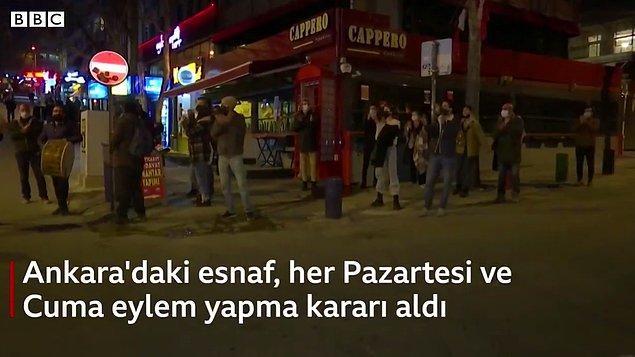 Ankara'da kurulan KABARE (Kafe-Bar-Restoran Çalışanları ve İşletmecileri Dayanışma Platformu) ise #kapatmayadasahipçık etiketiyle bir hareket başlattı.