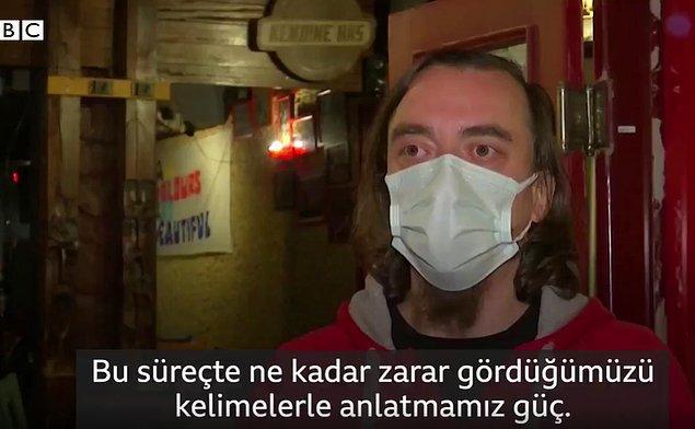 Oldukça zor günler yaşayan insanların isyanına BBC Türkçe yer verdi.