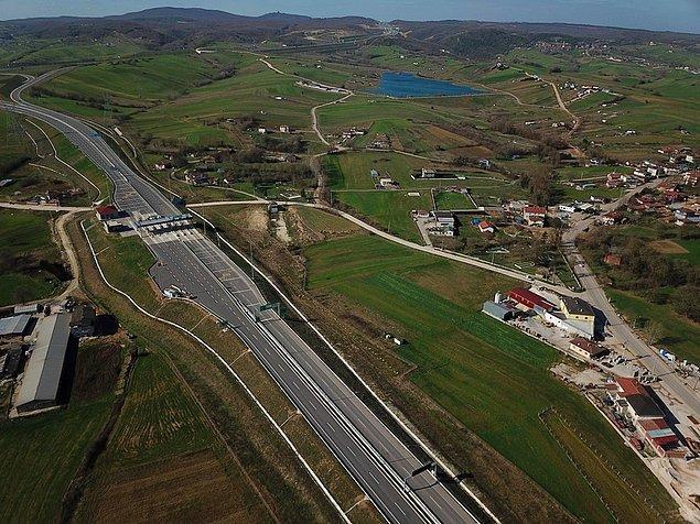 """""""Kuzey Marmara Otoyolu'nun gişesinin köye açılması nedeniyle buraya olan ilgi arttı"""""""