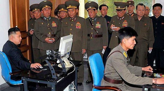 Korsanlar Kim Jong Un ile bağlantılı