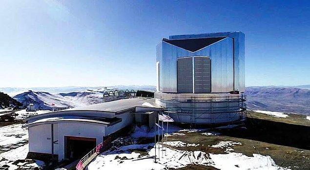 Gözlemevinde kullanılacak teleskobun tasarımı, Türkiye'de gerçekleştirildi.