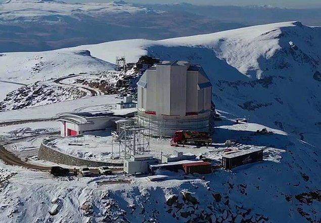 'Dünyanın önemli uzay gözlem merkezlerinden biri olacak'