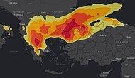 İstanbul'a Peş Peşe Uyarılar... Yoğun Kar Yağışının Haritası Paylaşıldı