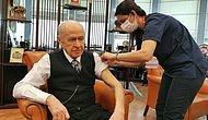 MHP Lideri Bahçeli, Koronavirüs Aşısının İkinci Dozunu Yaptırdı