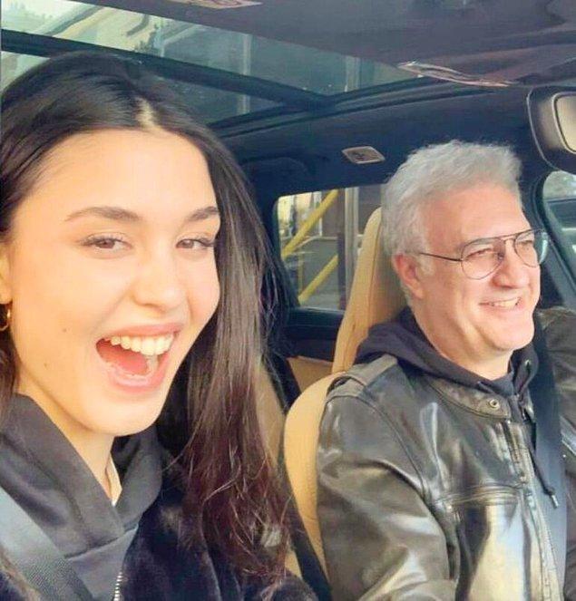 Iraz Yıldız ve Tamer Karadağlı'dan Mutlu Aşk Pozu