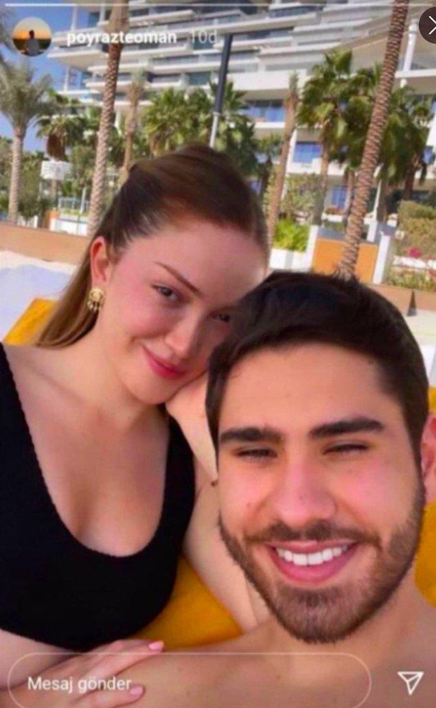 2. Şu an Dubai'de tatilde olan ikiliden yeni bir aşk pozu daha geldi!