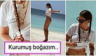 Kendall Halt Etmiş! Maldivlerde Tatilde Olan Serenay Sarıkaya Bikinili Pozlarıyla Canınızı Bi Miktar Sıkabilir