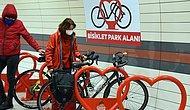 İstanbul'daki Metro İstasyonlarına 'Bisiklet Park Alanları' Kuruluyor