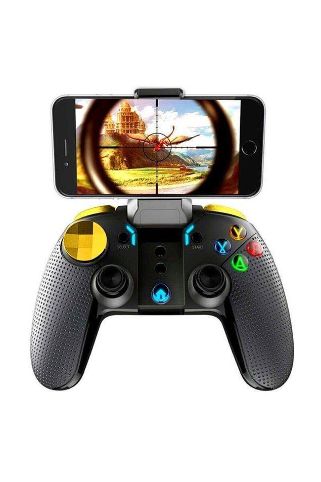 4. Telefonda oyun oynamak artık çok daha eğlenceli bir hale gelsin diye: Mobil oyun kolu
