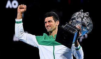Djokovic, Avustralya Açık'ta 9. Kez Şampiyon!