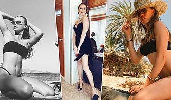 Güzelliğiyle Parmak Isırtan Serenay Sarıkaya'nın Instagram'ı Kasıp Kavuran 15 Fotoğrafı