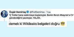 Özgür Demirtaş'tan Berat Albayrak'a CV Gönderdiği İddialarına Sert Yanıt Geldi