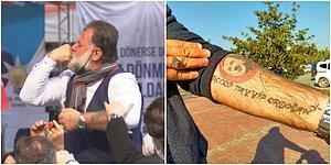 Erdoğan'a Sevgisini Yüzüğünü Öperek Gösteren Vatandaş: 'Beni ve Sevgi Gösterimi Karaladılar'