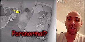 Bir Baba Küçük Kızının Yatağın Altına Çekildiğini İddia Ettiği Paranormal Bir Video Paylaştı