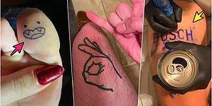 Paylaştıkları Görseller ile 'Dövmelerimden Memnun Değilim' Diyenleri Bile Bin Kez Şükrettirecek 19 Kişi