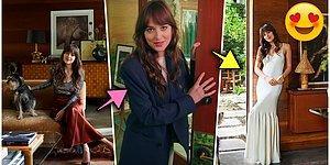 Grinin Elli Tonu Serisinin Ünlü Yıldızı Dakota Johnson'ın Hollywood'daki Efsanevi Evini İnceledik!