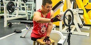 Ampute Fitness Eğitmeninin Hayranlık Uyandıran Azmi