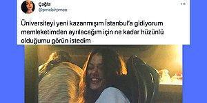 Üniversite İçin İstanbul'a Gülerek Giden Kullanıcının Otobüste Çekilen Fotoğrafı ve Tebessüm Ettiren Yorumlar