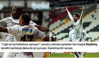 Kartal Uçuşa Devam Ediyor! Denizlispor'u İlk Yarıda Bulduğu Gollerle Yenen Beşiktaş Zirveyle Puanları Eşitledi