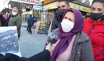 'Hastalık Var, Kongre Yapılmamalı' Diyen Kadın Gerçeği Öğrenince 'AKP Ne Yapıyorsa Doğrudur' Dedi