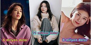 Bu Rakamlara İnanamayacaksınız! Ekranlarda Görüp Hayran Kaldığımız En Zengin Kore Dizisi Aktrisleri