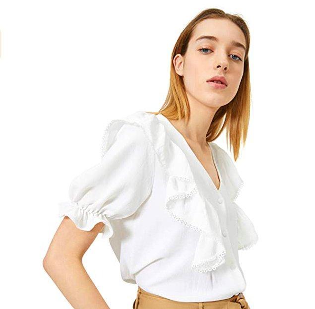 6. Bu bluz çok şık aynı zamanda çok da ucuz.