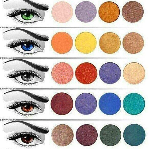 1. Bildiniz gibi renk tablosunda bir rengi belirginleştirecek ve soluklaştıracak renkler de bulunur.