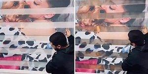 Şu Kadar Sevilsek Yeter: Çok Sevdiği Köpeği ile Olan Fotoğrafını Stor Perdeye Bastıran Kadın