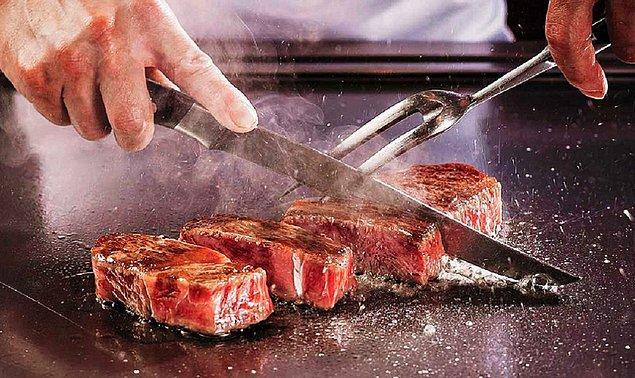 12. Kobe eti veya Wagyu eti