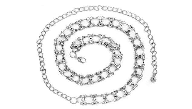 13. Bu zinciri de ister kolye ister kemer olarak kullanın.