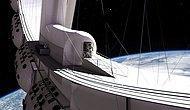 2027 Yılında Açılması Planlanan ve İçerisinde Sinema Salonundan Tutun da Bara Kadar Olan Uzay Oteli