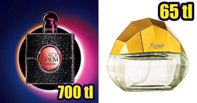12. YSL Black Opium'un muadili Farmasi Reina Midnight