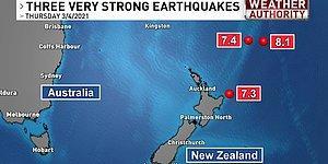 7.3, 7.4 Şimdi de 8.1: Art Arda Depremlerle Sarsılan Yeni Zelanda'da Tsunami Uyarısı Yapıldı
