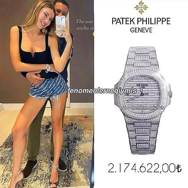 Mesela şu fotoğraftaki kol saati...Bir saat ne kadar pahalı olabilirse o kadar pahalı bir saat tabii ama Şeyma Subaşı söz konusu olunca şaşırmıyoruz 😂