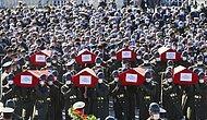 Türkiye Helikopter Kazasında Yitirdiği 11 Şehidini Uğurladı...
