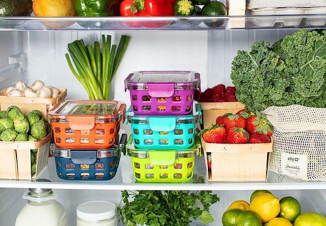 8. Eğer buzdolabınız kötü kokuyorsa karbonat ve sirkeyi karıştırarak temizleyin. Hem zararsız hem de uygun fiyatlı doğal bir temizleyicidir.