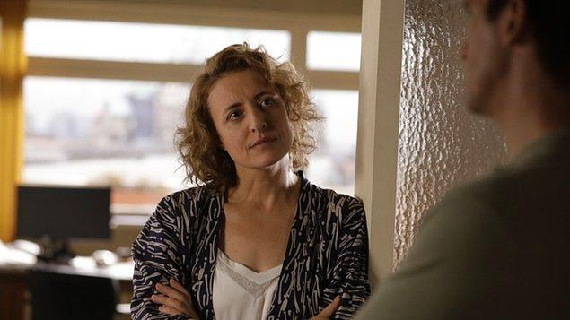 """Berlinale'de En İyi Başrol Oyuncu dalında """"Gümüş Ayı"""" ödülü """"Ich bin dein Mensch"""" filmindeki rolüyle Alman oyuncu Maren Eggert'e,"""