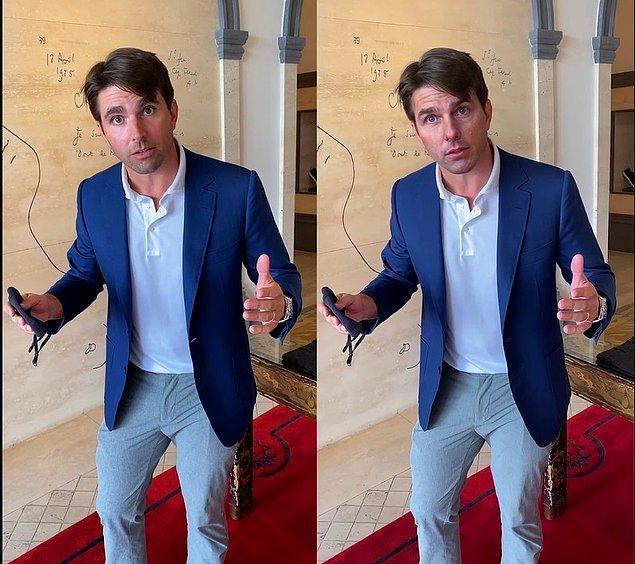 Pek kolay değil diyebiliriz. İlk başta Tom Cruise'a benzeyen bir insana ihtiyacımız var. Daha sonra deepfake videoları konusunda kendini geliştirmiş bir görsel efekt uzmanına ihtiyacımız var.