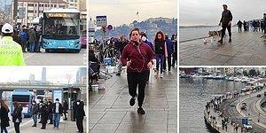 Kimi İşe, Kimi Sahile Koştu: Kısıtlamasız İlk Hafta Sonunda İstanbul'dan Manzaralar 📷