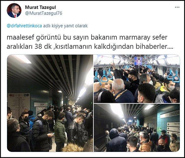 Twitter kullanıcıları Bakan Koca'nın paylaşımlarına bu görüntülerle yanıt verdi 👇