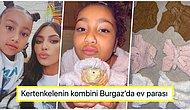 Ana Gibi Ana Be! Kim Kardashian Kızı North'un Kertenkelesi İçin Kendi Markası Skims'e Koleksiyon Hazırlattı